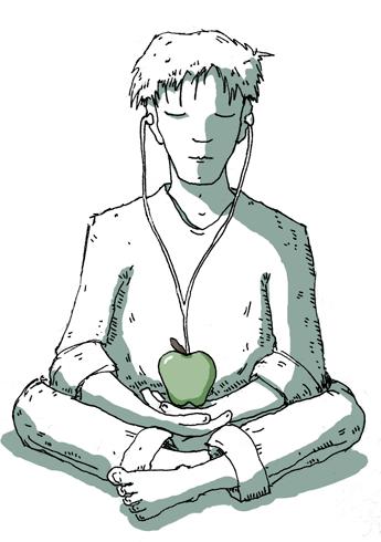 apple meditation ipod