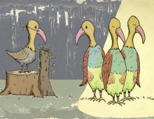 Creature Cliches: B is for birds of a feather