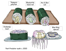 econews: post-predator sushi