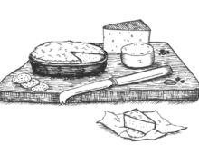 cheese (wood)cuts