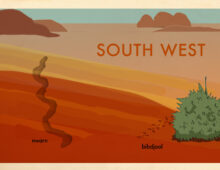 tracks – Australian nature book commissioned proposal